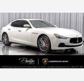 2017 Maserati Ghibli S for sale 101398537