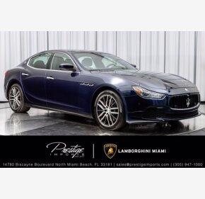 2017 Maserati Ghibli for sale 101411444