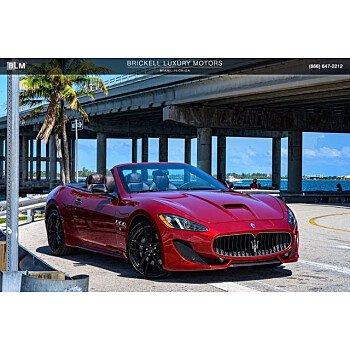 2017 Maserati GranTurismo for sale 101359421