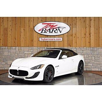 2017 Maserati GranTurismo for sale 101513549