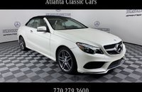 2017 Mercedes-Benz E550 Cabriolet for sale 101205596