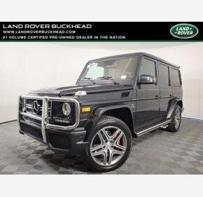 2017 Mercedes-Benz G63 AMG for sale 101486581