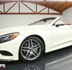 2017 Mercedes-Benz S550 Cabriolet for sale 101098805