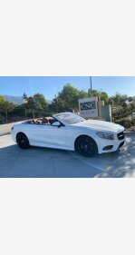 2017 Mercedes-Benz S550 Cabriolet for sale 101206609