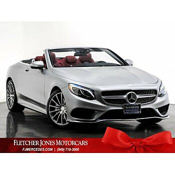 2017 Mercedes-Benz S550 Cabriolet for sale 101237644