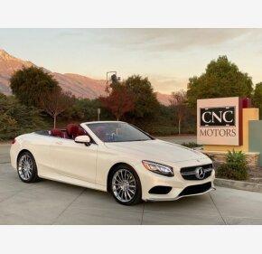 2017 Mercedes-Benz S550 Cabriolet for sale 101249692