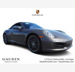 2017 Porsche 911 Carrera Cabriolet for sale 101217883