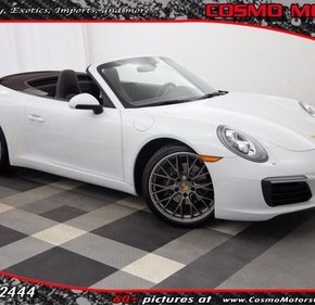 2017 Porsche 911 Carrera Cabriolet for sale 101399185