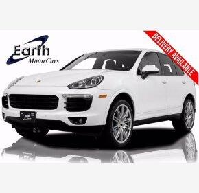 2017 Porsche Cayenne Platinum Edition for sale 101331606