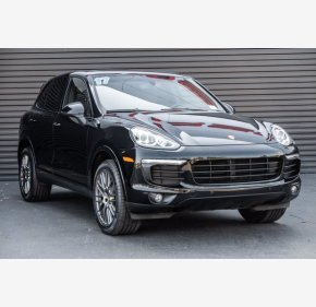 2017 Porsche Cayenne Platinum Edition for sale 101364790
