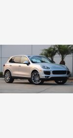 2017 Porsche Cayenne Platinum Edition for sale 101374746