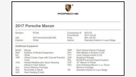 2017 Porsche Macan for sale 101331907