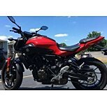 2017 Yamaha FZ-07 for sale 200606896