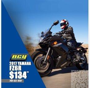 2017 Yamaha FZ6R for sale 200707392