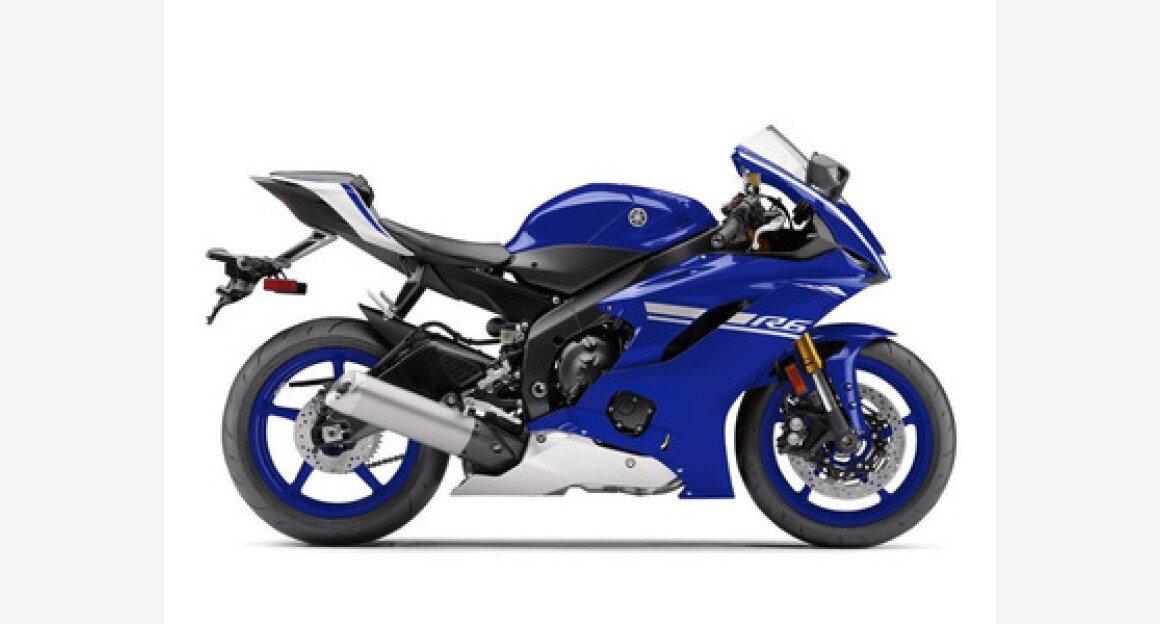 2017 Yamaha YZF-R6 for sale 200470093