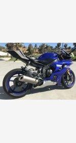 2017 Yamaha YZF-R6 for sale 200730774
