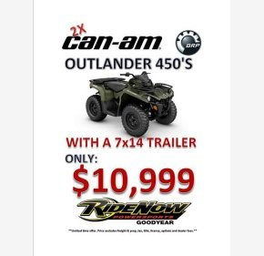 2018 Can-Am Outlander 450 for sale 200778737