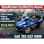 2018 Can-Am Spyder RT for sale 201042939