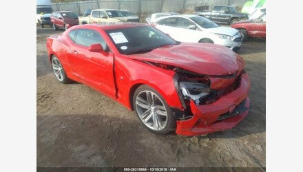 2018 Chevrolet Camaro LT Coupe for sale 101226103