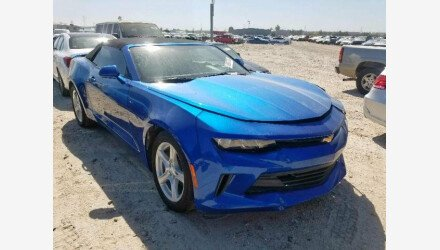 2018 Chevrolet Camaro for sale 101235234
