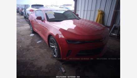 2018 Chevrolet Camaro LT Coupe for sale 101320588