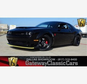 2018 Dodge Challenger SRT Demon for sale 101082288