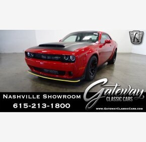 2018 Dodge Challenger SRT Demon for sale 101366321