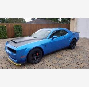 2018 Dodge Challenger SRT Demon for sale 101384019