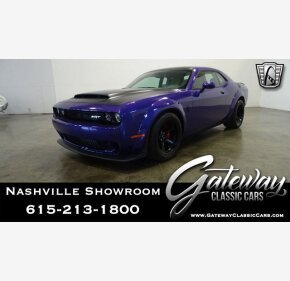 2018 Dodge Challenger SRT Demon for sale 101441880