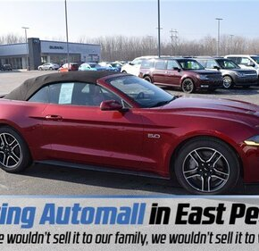 2018 Ford Mustang Gt Convertible For 101062617