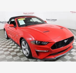 2018 Ford Mustang GT Convertible for sale 101099854