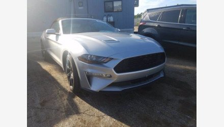2018 Ford Mustang for sale 101360225