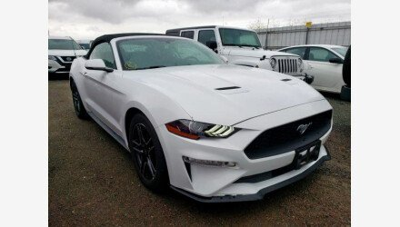 2018 Ford Mustang for sale 101360617