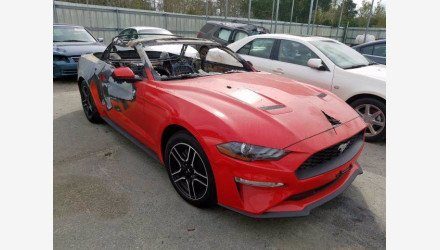 2018 Ford Mustang for sale 101437845