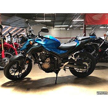 2018 Honda CB500F for sale 200616546