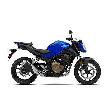 2018 Honda CB500F for sale 200686282