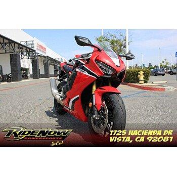 2018 Honda CBR1000RR for sale 201120376