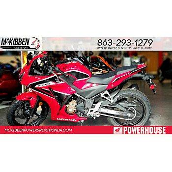 2018 Honda CBR300R for sale 200588804