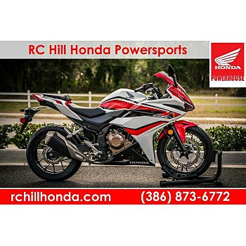 2018 Honda CBR500R for sale 200712680