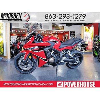 2018 Honda CBR650F for sale 200588671