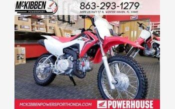 2018 Honda CRF110F for sale 200588706