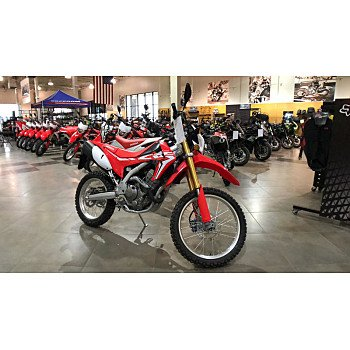2018 Honda CRF250L for sale 200687625