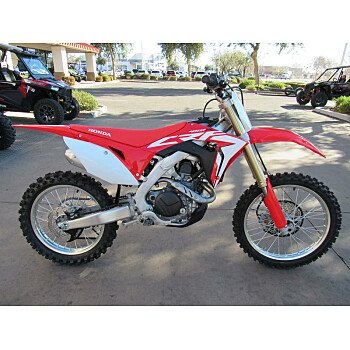 2018 Honda CRF450R for sale 200648078