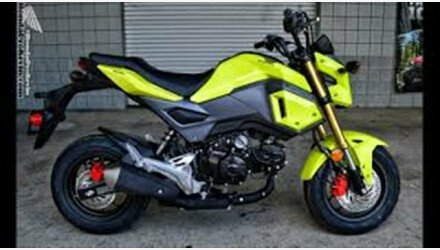 2018 Honda Grom Motorcycles for Sale - Motorcycles on Autotrader
