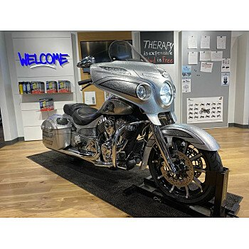 2018 Indian Chieftain Elite Limited Edition w/ ABS for sale 201048190