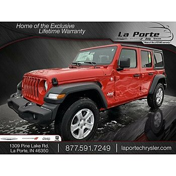 2018 Jeep Wrangler 4WD Unlimited Sport for sale 101102877