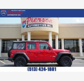 2018 Jeep Wrangler 4WD Unlimited Sport for sale 101191015