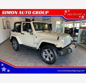 2018 Jeep Wrangler JK 4WD Sahara for sale 101195842