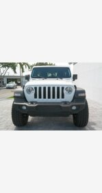 2018 Jeep Wrangler 4WD Unlimited Sport for sale 101220149