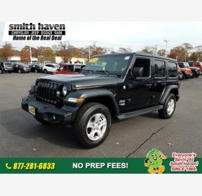 2018 Jeep Wrangler 4WD Unlimited Sport for sale 101233558